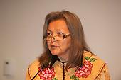 Washington DC, USA. Chico Vive conference, 5th April 2014. Chief Liz Logan, Canada.