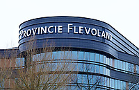 Nederland Lelystad-  Januari 2018.  Provincie Flevoland. Overheidsinstelling bij het station.    Foto Berlinda van Dam / Hollandse Hoogte