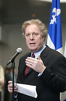 Montreal, Quebec, Canada. April 2004 file Photo<br /> - Jean Charest