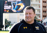 Photo: Richard Lane/Richard Lane Photography. RC Toulon v Wasps.  European Rugby Champions Cup. 17/01/2016. Wasps' Director of Rugby, Dai Young.