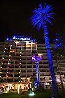 Europe/France/Provence-Alpes-Côte d'Azur/06/Alpes-Maritimes/Cannes: Façade du Grand Hôtel sur la Croisette