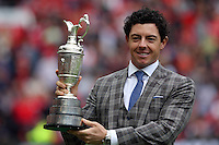 Pictured: Golfer Rory McIlroy. Saturday 16 August 2014<br />