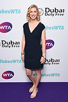 LONDON, UK. June 28, 2019: Julia Boserup arriving for the WTA Summer Party 2019 at the Jumeirah Carlton Tower Hotel, London.<br /> Picture: Steve Vas/Featureflash