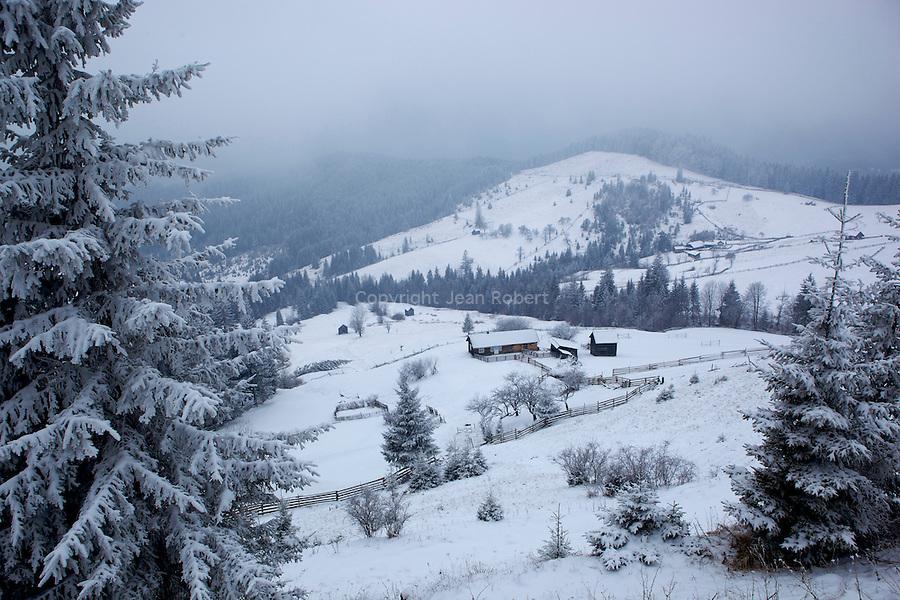 randonnée Sucevita - Moldovita
