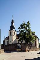 Pfarrkirche Maria Himmelfahrt in  Großwallstadt am Main, Bayern, Deutschland