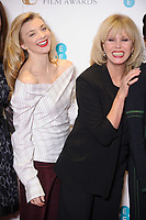 Natalie Dormer and Joanna Lumley<br /> at the photocall for BAFTA Film Awards 2018 nominations announcement, London<br /> <br /> <br /> ©Ash Knotek  D3367  09/01/2018
