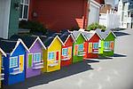 Colorful Cardboard Houses