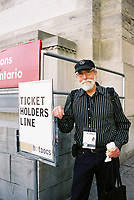 Toronto (ON) CANADA, April 21, 2007<br /> <br /> Les Blank, Director, ALL IN THIS TEA  (USA)<br /> at the HOT DOCS Film Festival 2007 <br /> <br />     photo by Pierre Roussel - Images Distribution
