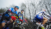 Liège-Bastogne-Liège 2013..Dan Martin (IRL) underway to winning the oldest of all classics