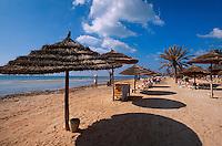 Plage de Seguia, Djerba, Tunesien