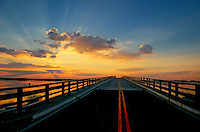 Stone Harbor bridge, Stone Harbor, New Jersey, NJ, USA