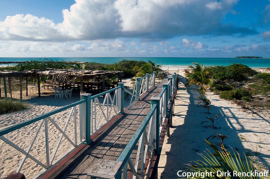 Playa Pilar auf  Cayo Guillermo, Archipielago de Camagüey, Provinz Ciego de Avila, Cuba