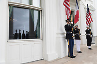 The arrival ceremony of the President of France and Mrs. Macron (Official White House Photo by Shealah Craighead)