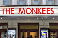General view of Hammersmith Eventim Apollo ahead of 'An Evening with The Monkeeys'.  Micky Dolenz and Peter Tork from The Monkees perform at Hammersmith Eventim Apollo, 45 Queen Caroline Street, UK on 4 September 2015 - their first performance in London since the passing of Davy Jones in February 2012 . Photo by David Horn.