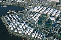 Deutschland, Hamburg, Hafen, Elbe, Tanklager, Oellager, Benzienlager, Raffinerie, Rethe, Neuhöfer Hafen,