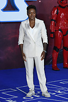 """Nicola Adams<br /> arriving for the """"Star Wars: The Rise of Skywalker"""" premiere at the Cineworld Leicester Square, London.<br /> <br /> ©Ash Knotek  D3545 17/12/2019"""