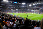 A general view of the Estadio Santiago Bernabeu during the UEFA Champions League 2017-18 match between Real Madrid and Tottenham Hotspur FC at Estadio Santiago Bernabeu on 17 October 2017 in Madrid, Spain. Photo by Diego Gonzalez / Power Sport Images