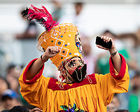 CHICAGO, IL - JULY 7: Mexico fan during a game between Mexico and USMNT at Soldiers Field on July 7, 2019 in Chicago, Illinois.