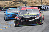 Monster Energy NASCAR Cup Series<br /> Toyota/Save Mart 350<br /> Sonoma Raceway, Sonoma, CA USA<br /> Sunday 25 June 2017<br /> Erik Jones, Furniture Row Racing, 5-hour ENERGY Extra Strength Toyota Camry, Cole Whitt, TriStar Motorsports, RTIC Coolers Chevrolet SS<br /> World Copyright: John K Harrelson<br /> LAT Images