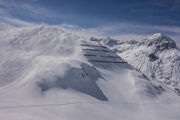 Off piste at Lech Ski Area, St Anton, Austria