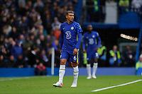 2nd October 2021; Stamford Bridge, Chelsea, London, England; Premier League football Chelsea versus Southampton; Thiago Silva of Chelsea