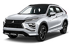 2021 Mitsubishi Eclipse-Cross-PHEV Instyle 5 Door SUV Angular Front automotive stock photos of front three quarter view