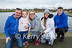 Enjoying a stroll in the Tralee Bay Wetlands on Saturday, l to r: Stephen, Hannah, Karen and Leanne O'Brien and Jack Kent.
