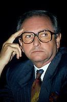 UNDATED FILE PHOTO -Andre Bureau, Head of CRTC<br /> <br /> <br /> Photo : Pierre Roussel - Agence Quebec Presse