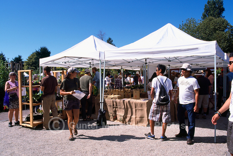 5th Annual Garlic Festival, August 2013 (hosted by The Sharing Farm) at Terra Nova Rural Park, Richmond, BC, British Columbia, Canada - Garlic Lovers check out the Displays and Festivities