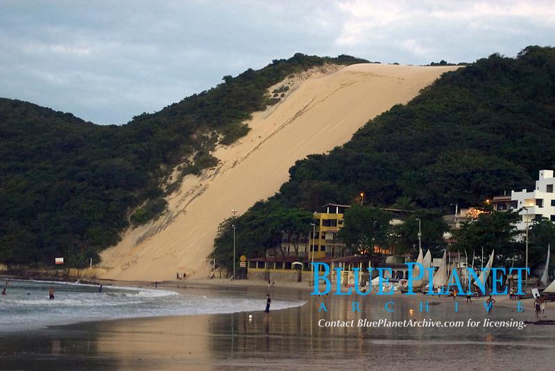 Morro do Careca sand dune, Natal, Rio Grande do Norte, Brazil