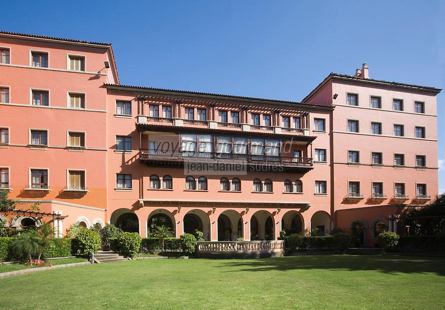 Europe/Espagne/Iles Canaries/Tenerife/Santa Cruz de Tenerife: Hoel Mencey et son jardin