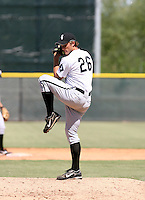 John Ely / Chicago White Sox 2008 Instructional League..Photo by:  Bill Mitchell/Four Seam Images