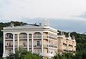 21/08/16 - AIX LES BAINS - SAVOIE - FRANCE - Architecture thermale a Aix les Bains. Ancien Hotel Royal - Photo Jerome CHABANNE