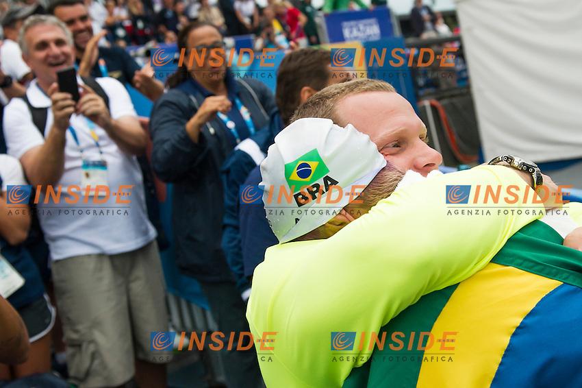 CUNHA Ana Marcela BRA gold medal<br /> Open Water - Women's  25km <br /> Day 09 01/08/2015<br /> XVI FINA World Championships Aquatics Swimming<br /> Kazan Tatarstan RUS July 24 - Aug. 9 2015 <br /> Photo Giorgio Perottino/Deepbluemedia/Insidefoto