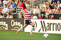 Megan Rapinoe (15) of the United States (USA). The United States (USA) women defeated China PR (CHN) 4-1 during an international friendly at PPL Park in Chester, PA, on May 27, 2012.