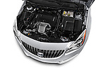 Car Stock 2017 Buick Regal Sport-Touring 4 Door Sedan Engine  high angle detail view