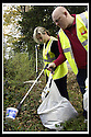 22/10/2007       Copyright Pic: James Stewart.File Name : 07_Larbert_Litter.MEMBERS OF THE PUBLIC GET TOGETHER ON THE STREETS AROUND LARBERT TO COLLECT LITTER.James Stewart Photo Agency 19 Carronlea Drive, Falkirk. FK2 8DN      Vat Reg No. 607 6932 25.Office     : +44 (0)1324 570906     .Mobile   : +44 (0)7721 416997.Fax         : +44 (0)1324 570906.E-mail  :  jim@jspa.co.uk.If you require further information then contact Jim Stewart on any of the numbers above........