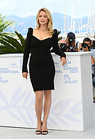 CANNES, FRANCE. July 10, 2021: Virginie Efira at the photocall for Benedetta at the 74th Festival de Cannes.<br /> Picture: Paul Smith / Featureflash
