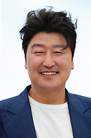 """CANNES, FRANCE - JULY 16:  Song Kang-ho at the """"Bi-Sang-Seon-Eon/Emergency Declaration"""" photocall during the 74th annual Cannes Film Festival on July 16, 2021 in Cannes, France. <br /> CAP/GOL<br /> ©GOL/Capital Pictures"""