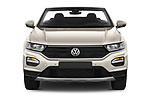 Car photography straight front view of a 2020 Volkswagen T-Roc Style 5 Door SUV Front View