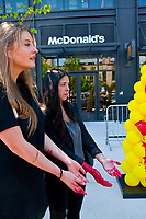 Protest Against McDonald's Animal Cruelty Practices Chicago Illinois 5-24-18