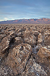 Devil's Golf Course at Death Valley National Park, California, USA