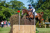 GBR-Yasmin Ingham rides Banzai Du Loir during the Cross Country for the CCI-L 4*U25. Interim-4th. 2021 GBR-Bicton International Horse Trials. Devon. Great Britain. Saturday 12 June. Copyright Photo: Libby Law Photography