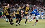 01.08.2019 Progres Niederkorn v Rangers: Jermain Defoe goes close