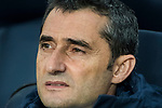 Coach Luis Ernesto Valverde Tejedor of FC Barcelona looks on prior to the La Liga 2017-18 match between FC Barcelona and Levante UD at Camp Nou on 07 January 2018 in Barcelona, Spain. Photo by Vicens Gimenez / Power Sport Images