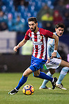 Yannick Ferreira Carrasco of Atletico de Madrid during their La Liga match between Atletico de Madrid and RC Celta de Vigo at the Vicente Calderón Stadium on 12 February 2017 in Madrid, Spain. Photo by Diego Gonzalez Souto / Power Sport Images