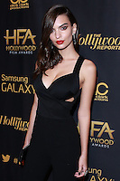 HOLLYWOOD, LOS ANGELES, CA, USA - NOVEMBER 14: Emily Ratajkowski arrives at The Hollywood Reporter's 18th Annual Hollywood Film Awards After Party held at the W Hollywood on November 14, 2014 in Hollywood, Los Angeles, California, United States. (Photo by David Acosta/Celebrity Monitor)