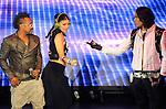 Fergie,Taboo & Apl.de.ap of The Black Eyed Peas live at The 102.7's KIIS-FM's Wango Tango 2009 held at The Verizon Wireless Ampitheatre in Irvine, California on May 09,2009                                                                     Copyright 2009 DVS/ RockinExposures