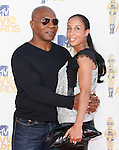 Mike Tyson & wife at the 2010 MTV Movie Awards held at The Gibson Ampitheatre in Universal City, California on June 06,2010                                                                               © 2010 Debbie VanStory / Hollywood Press Agency