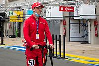 James Calado, #51 AF Corse Ferrari 488 GTE EVO LMGTE Pro, 24 Hours of Le Mans , Group Photo, Circuit des 24 Heures, Le Mans, Pays da Loire, France